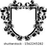 a coat of arms crest heraldic... | Shutterstock .eps vector #1562245282