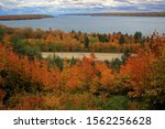 Lake Michigan Overlook With...