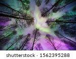 Aurora Borealis Corona Above...