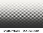 vector halftone dots background.... | Shutterstock .eps vector #1562538085