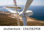 Installing Of Wind Turbines...