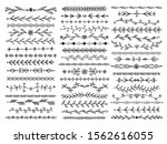 sketch borders. ornamental...   Shutterstock .eps vector #1562616055