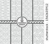seamless vector the template... | Shutterstock .eps vector #1562635912