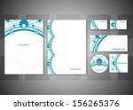 abstract business background  ... | Shutterstock .eps vector #156265376