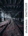 Small photo of Train tracks, train station, chicago