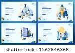 trendy flat illustration. set... | Shutterstock .eps vector #1562846368
