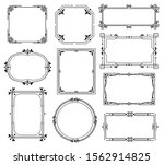 decorative ornamental frames... | Shutterstock .eps vector #1562914825