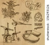 agricultura,arte,artística,ilustración,fondo,queso,clásico,clásica,zuecos,colección,productos lácteos,dibujo,drogas,holandés,erótico