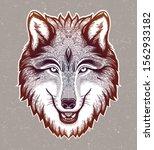 Wolf Portrait.dreamy Magic Art...