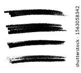 sketch scribble smear. black... | Shutterstock .eps vector #1563058342