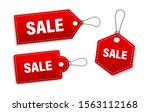 set of sale tags and labels ... | Shutterstock .eps vector #1563112168