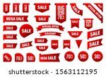 sale and new label collection... | Shutterstock .eps vector #1563112195
