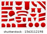 sale and new label collection... | Shutterstock .eps vector #1563112198