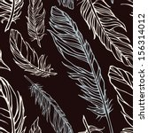vector seamless pattern with... | Shutterstock .eps vector #156314012