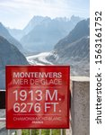 Sea Of Ice At Mont Blanc In...