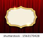 retro frame comic design banner ...   Shutterstock .eps vector #1563170428