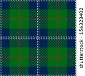 Blue Scottish Seamless Tartan Plaid