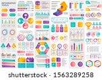 bundle infographic elements... | Shutterstock .eps vector #1563289258