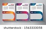 business abstract vector... | Shutterstock .eps vector #1563333058