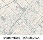 vector map of the city of... | Shutterstock .eps vector #1563389965
