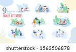summer  winter vacation family... | Shutterstock .eps vector #1563506878