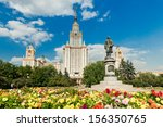 Lomonosov Monument And Main...