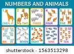 cartoon animals of savanna and...   Shutterstock .eps vector #1563513298