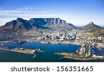 aerial view of cape town city... | Shutterstock . vector #156351665