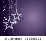 christmas background. vector... | Shutterstock .eps vector #156355136