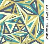 geometric pattern in vector | Shutterstock .eps vector #156357545