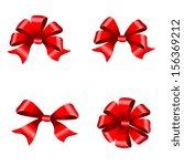 bows ribbon design | Shutterstock . vector #156369212