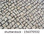 portuguese pavement  calcada... | Shutterstock . vector #156370532
