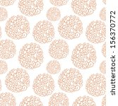 vector seamless pattern with... | Shutterstock .eps vector #156370772