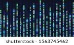 genomic sequences visualization ... | Shutterstock .eps vector #1563745462