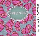 retro seamless pattern on silk... | Shutterstock .eps vector #156378032