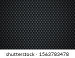 carbon fiber texture. seamless... | Shutterstock .eps vector #1563783478