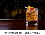 old fashioned cocktail | Shutterstock . vector #156379562