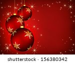 christmas background with an... | Shutterstock . vector #156380342