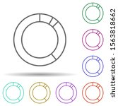 ring chart line multi color...