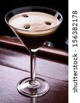 espresso martini cocktail | Shutterstock . vector #156382178