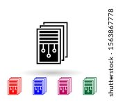 digital document multi color...