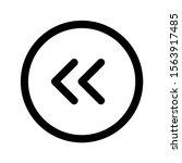 backward button icon with arrow ...