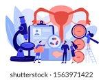 hpv virus checkup. viral...   Shutterstock .eps vector #1563971422