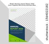 modern business annual report... | Shutterstock .eps vector #1564022182