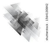 speed lines . vector... | Shutterstock .eps vector #1564130842