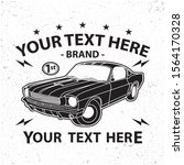 simple old car vector design ... | Shutterstock .eps vector #1564170328