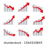 stock graphic vector icons set. ... | Shutterstock .eps vector #1564310845