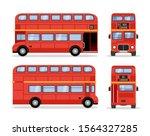 London Double Decker Red Bus...