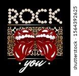 rock you. vector hand drawn...   Shutterstock .eps vector #1564392625