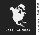 north america icon. continent...   Shutterstock .eps vector #1564413952